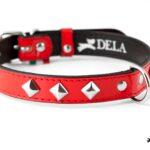 collari per cane in vernice rossa