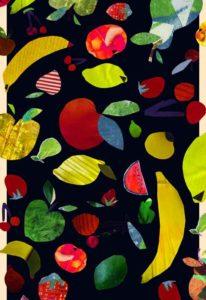 sciarpa fruits