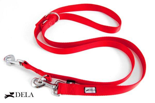 guinzaglio da addestramento in nylon rosso