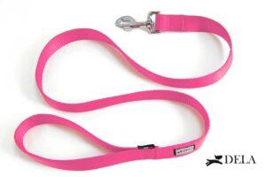 guinzaglio di nylon rosa