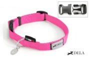 collare di nylon rosa