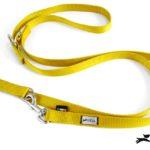 guinzaglio addestramento giallo