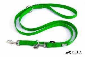 guinzaglio per addestramento nylon verde