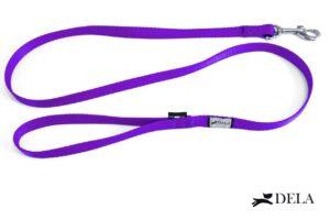 guinzaglio nylon bassotto viola