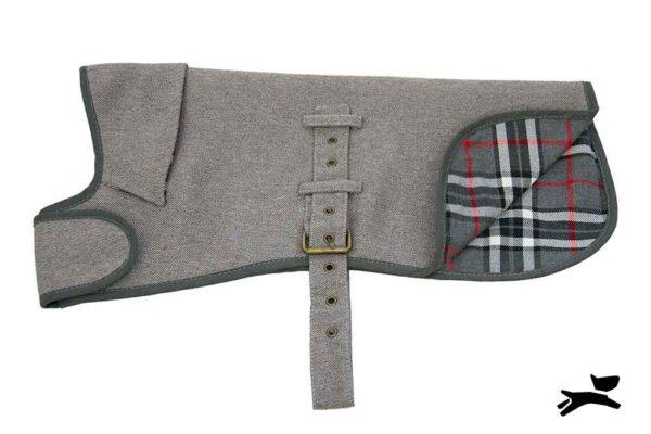 cappottino impermeabile grigio
