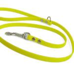 Guinzaglio giallo fluo